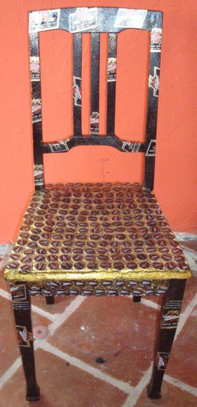 Bemalte Stühle almabea stühle