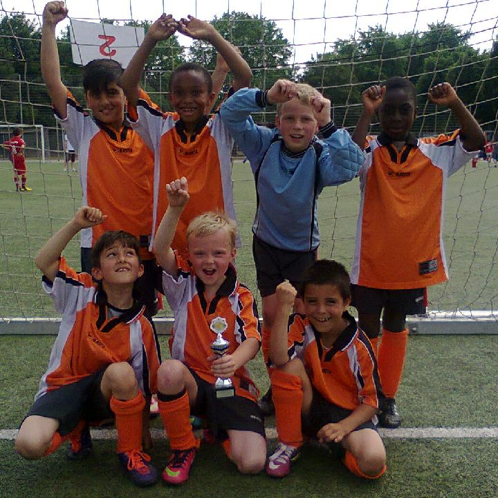 Ballfreunde F2 Junioren - Turniersieger am 06.07.2013