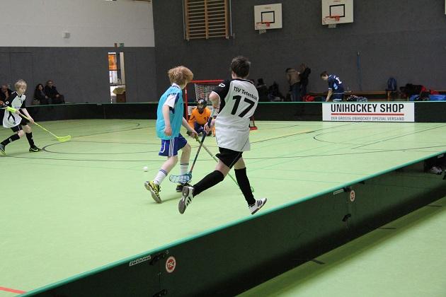 Bild: U15 Landesmeister Floorball