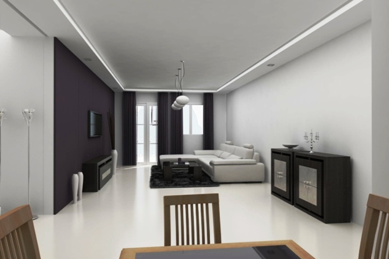 Photo interieur appartement moderne id es de conception son - Interieur appartement moderne ...