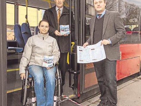 Vorstellung neues Fahrplanheft - Barrierefreiheit mit Stolperfallen - Pressegespräch vom 26.11.2012